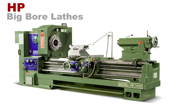Kingston HP Big Bore Lathe